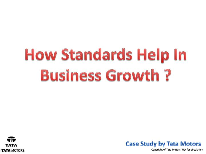 How Standards Help In Business