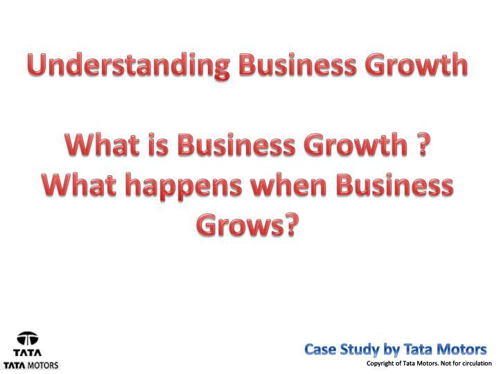 Understanding Business Growth