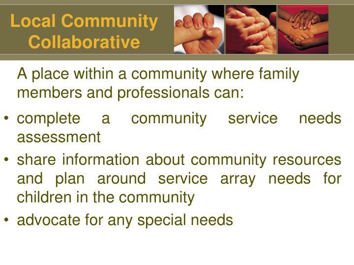 Local Community Collaborative