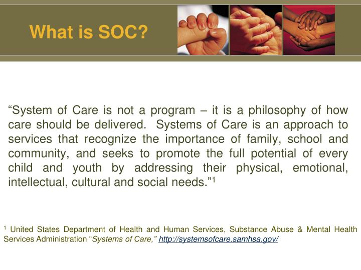 What is SOC?