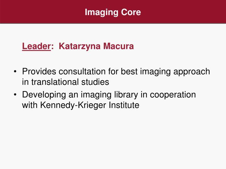 Imaging Core