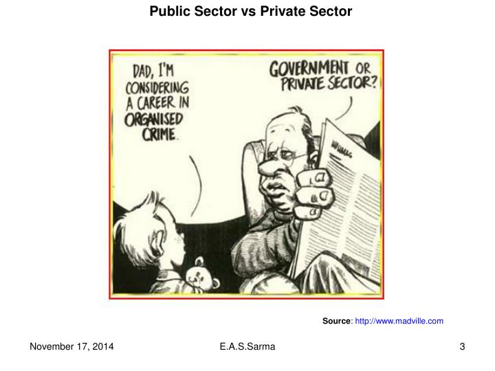 Public Sector vs Private Sector