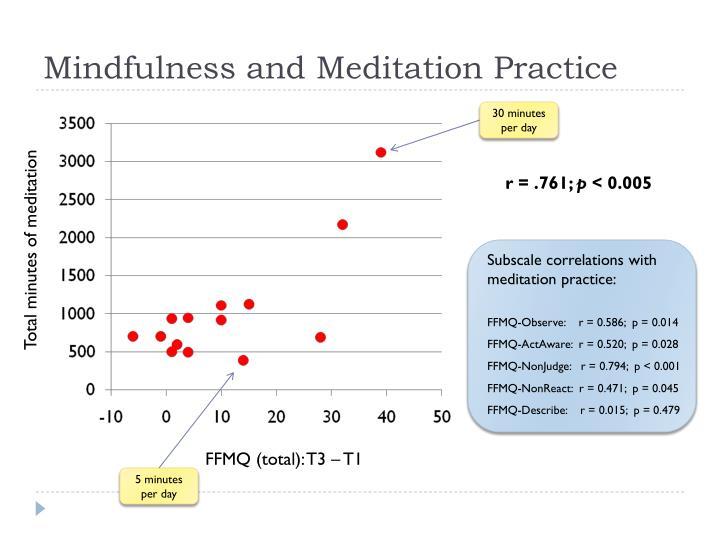 Mindfulness and Meditation Practice