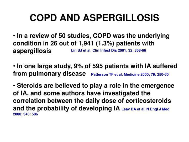 COPD AND ASPERGILLOSIS