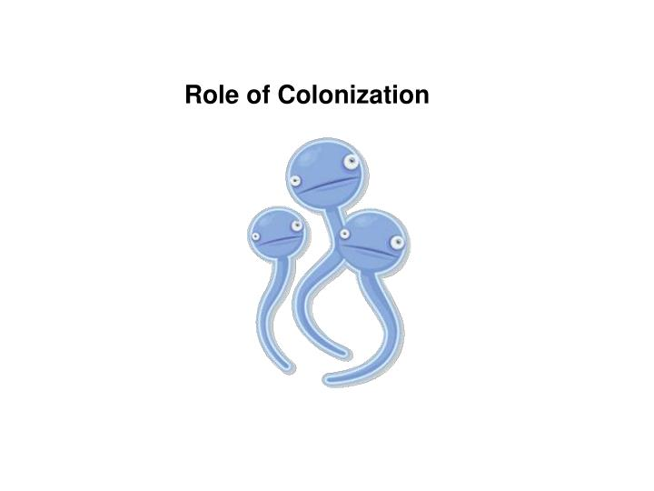Role of Colonization