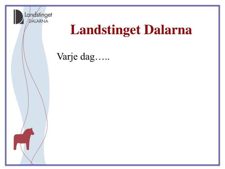 Landstinget Dalarna