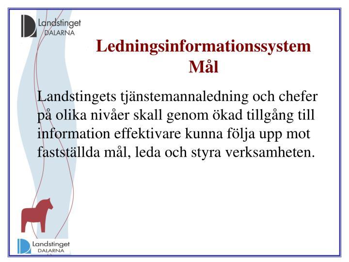 Ledningsinformationssystem