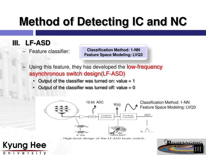 Method of Detecting IC and NC