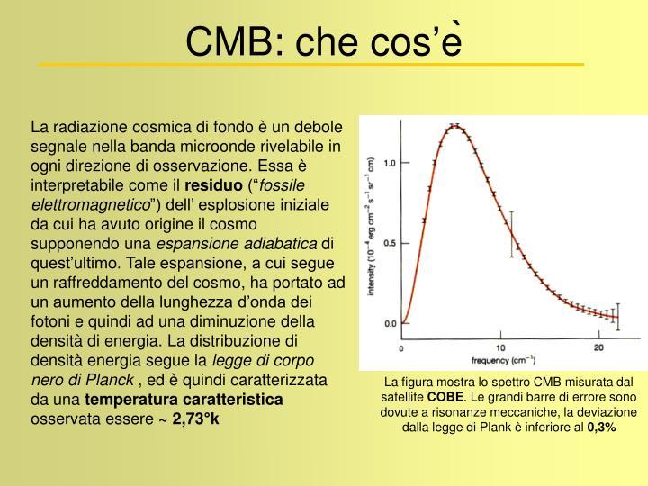CMB: che cos'e