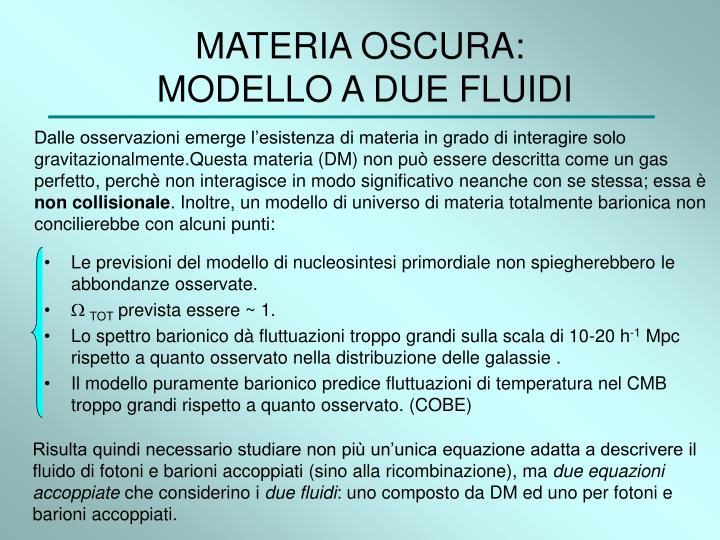 MATERIA OSCURA: