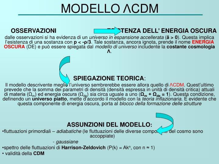 MODELLO