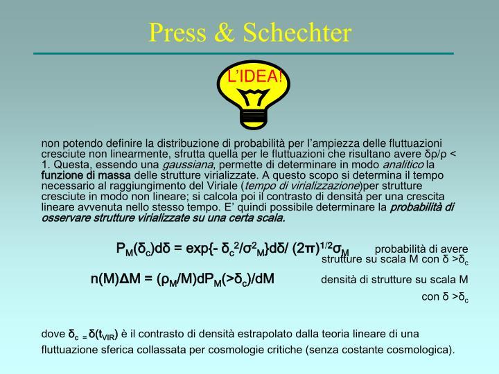 Press & Schechter