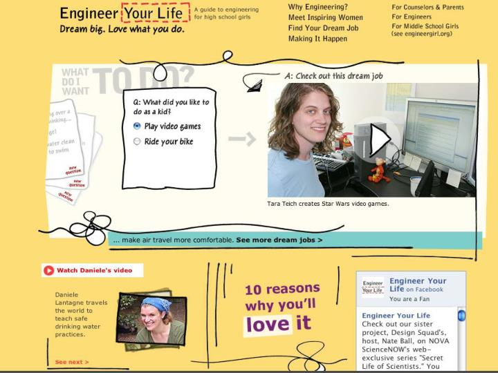 Engineeryourlife.org