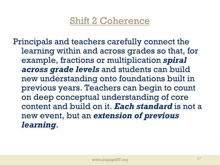 Shift 2 Coherence