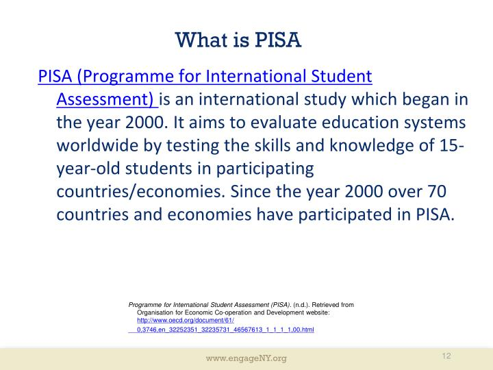 What is PISA