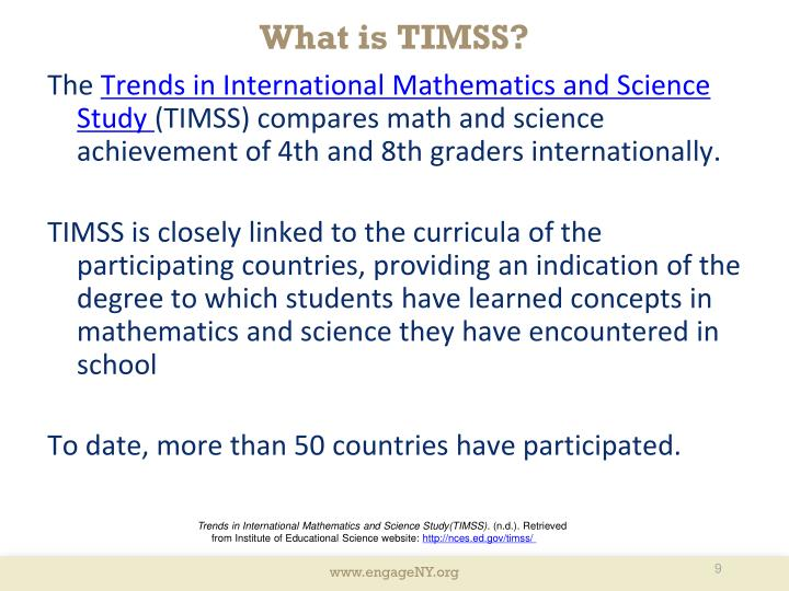 What is TIMSS?