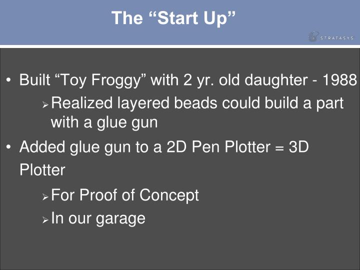 "The ""Start Up"""