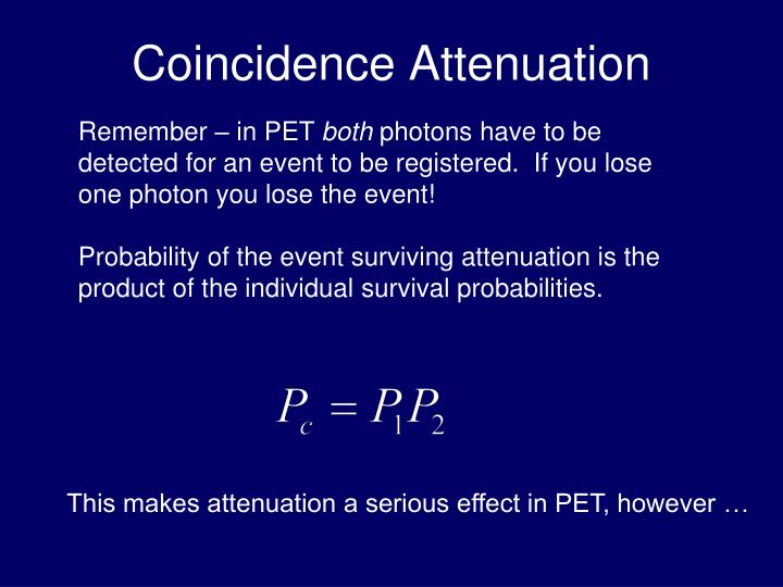 Coincidence Attenuation