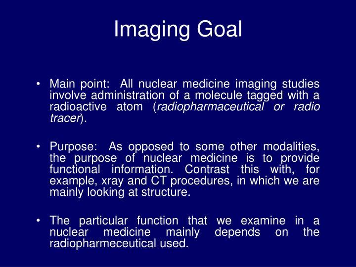 Imaging Goal