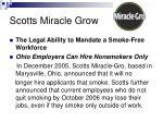 scotts miracle grow