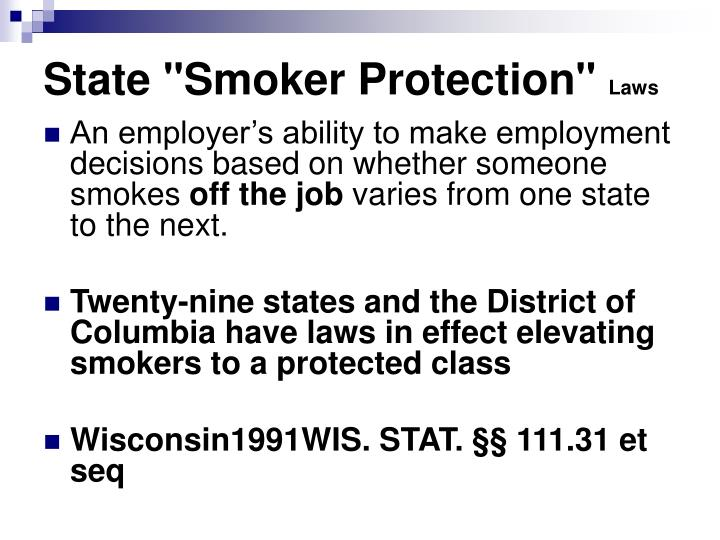 "State ""Smoker Protection"""