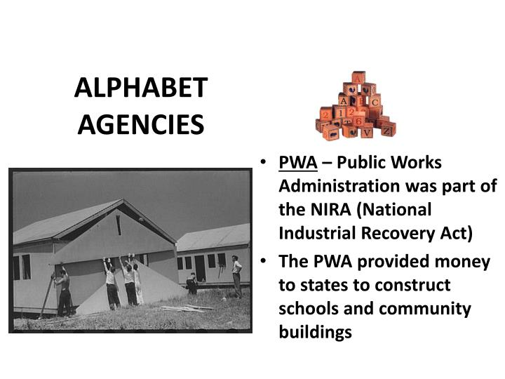 ALPHABET AGENCIES