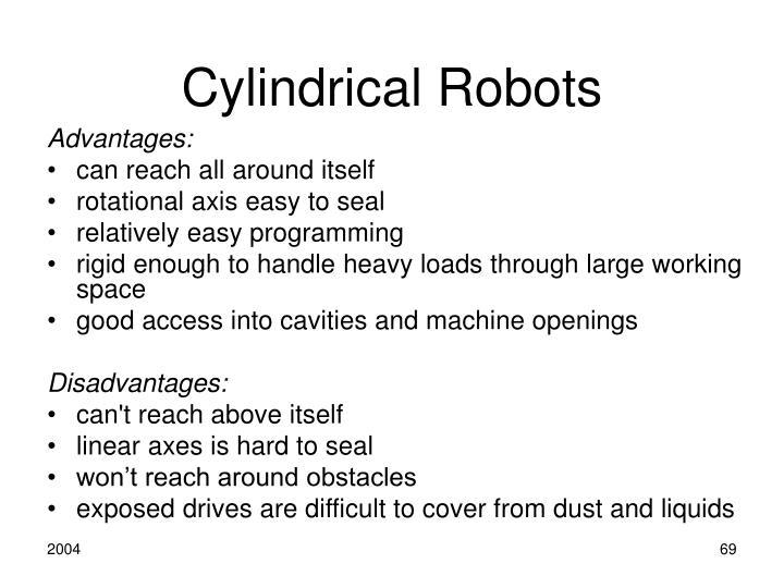 Cylindrical Robots
