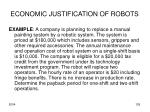 economic justification of robots3