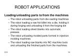 robot applications