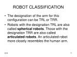 robot classification5