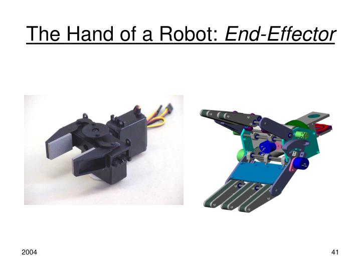 The Hand of a Robot: