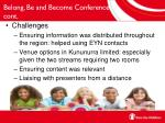 belong be and become conference cont1