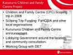 kununurra children and family centre project