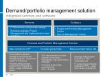 demand portfolio management solution