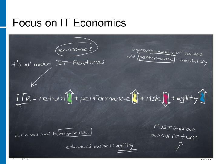 Focus on IT Economics