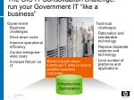 the cio it consolidation challenge run your government it like a business