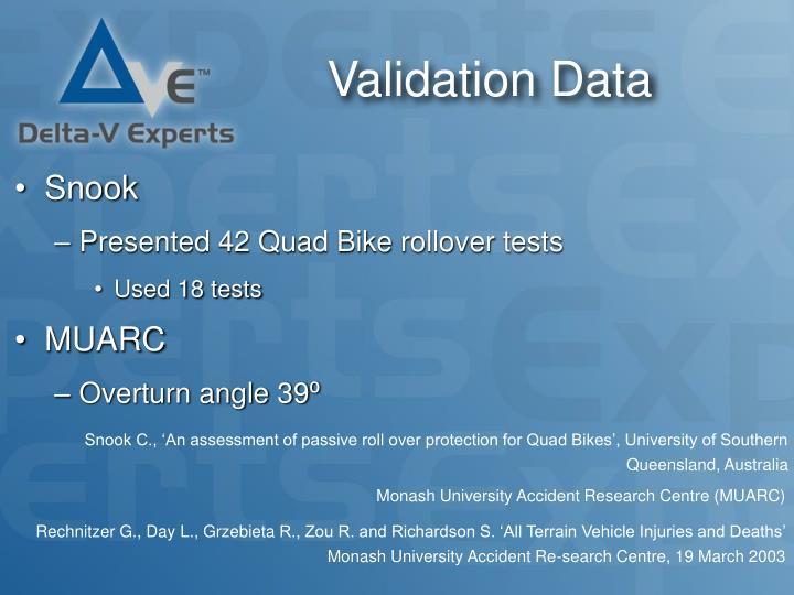 Validation Data