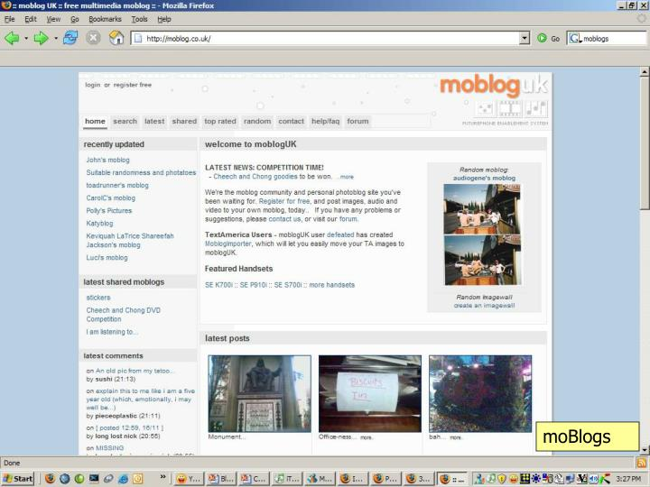 moBlogs