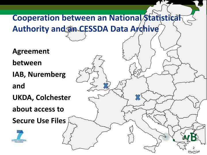 Cooperation between an national statistical authority and an cessda data archive