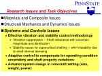 research issues and task objectives3