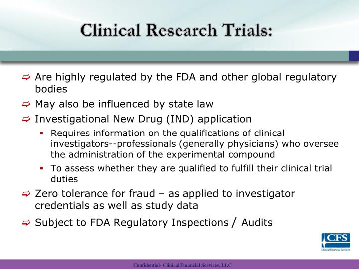 Clinical Research Trials: