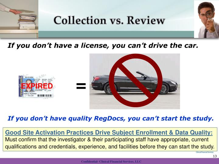 Collection vs. Review