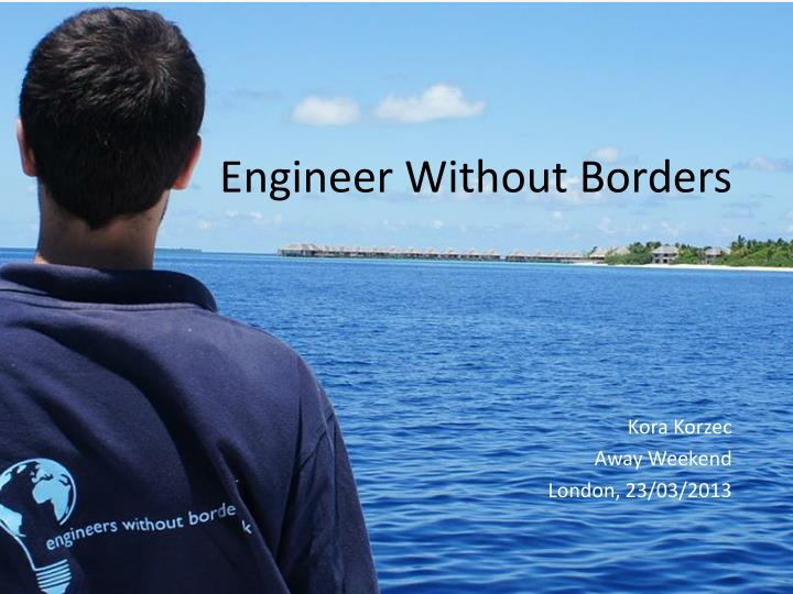 Engineer without borders