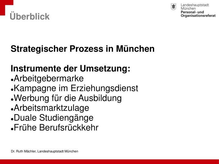 Dr. Ruth Mächler, Landeshauptstadt München