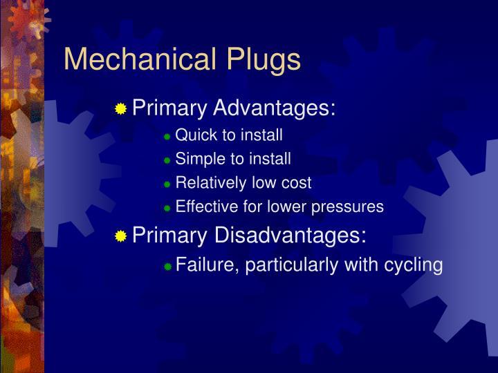 Mechanical Plugs