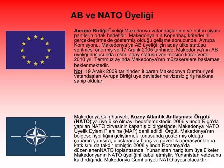 AB ve NATO