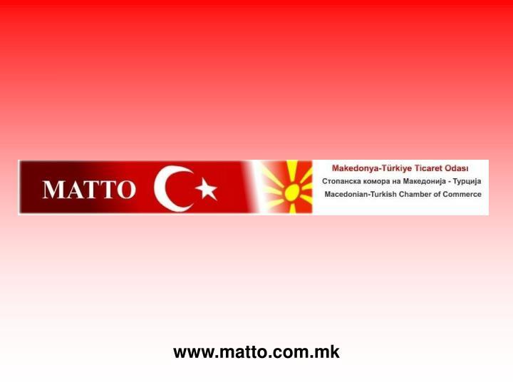 www.matto.com.mk
