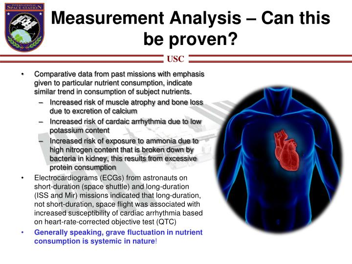 Measurement Analysis – Can this be proven?