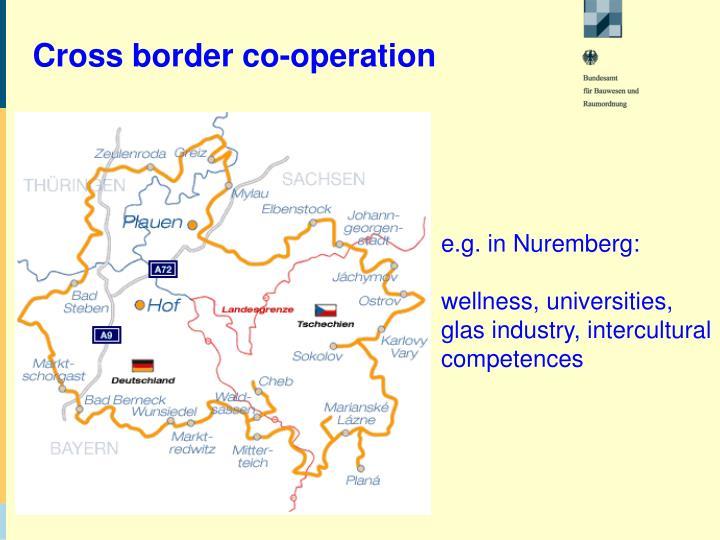 Cross border co-operation