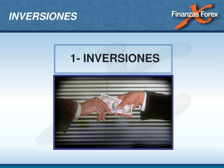 1- INVERSIONES